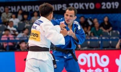 Felipe Kitadai no Mundial de Judô em Tóquio
