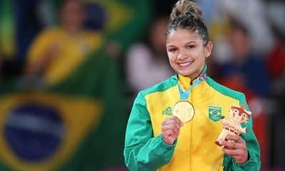 Larissa Pimenta, do judô, nos Jogos Pan-Americanos