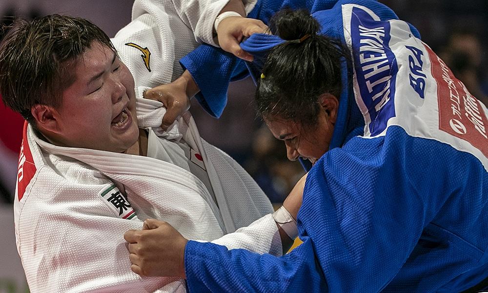 Maria Suelen Altheman no Mundial de Judô