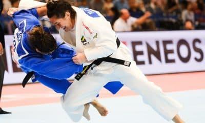 Mayra Aguiar derruba Kuka no Mundial de Judô