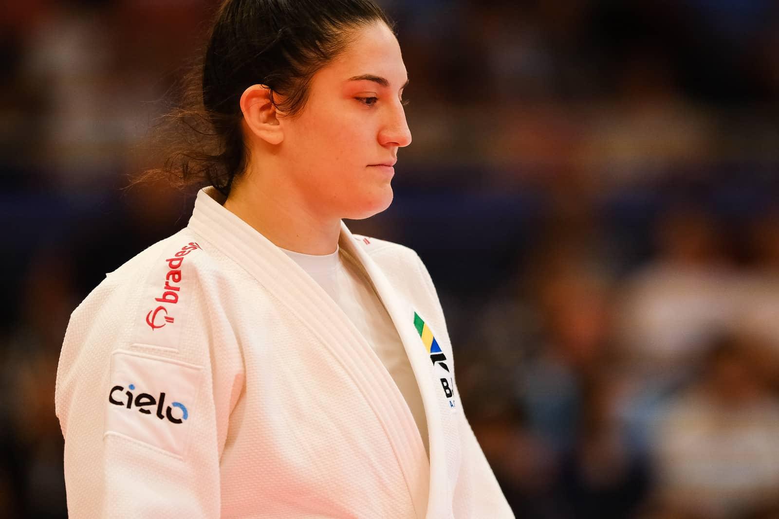 Mayra Aguiar no Mundial de Judô