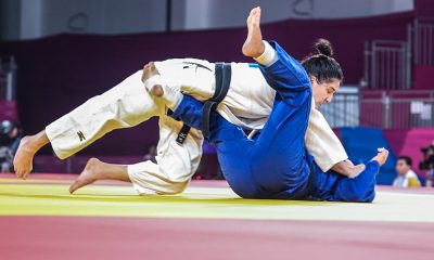 Mayra Aguiar, no judô nos Jogos Pan-Americanos