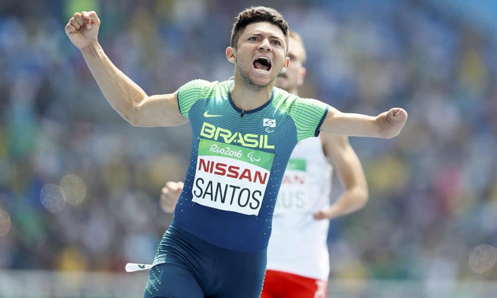 Petrúcio Ferreira, do atletismo paralímpico