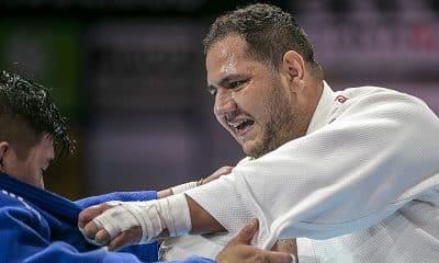 Rafael Silva no Mundial de Judô