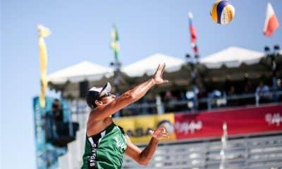 Ricardo Santos do vôlei de praia