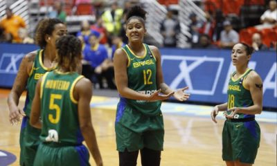 Brasil desafia Porto Rico pela medalha de bronze na AmeriCup basquete feminino