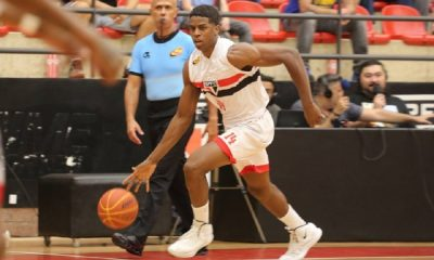 Georginho, do São Paulo, no basquete da NBB
