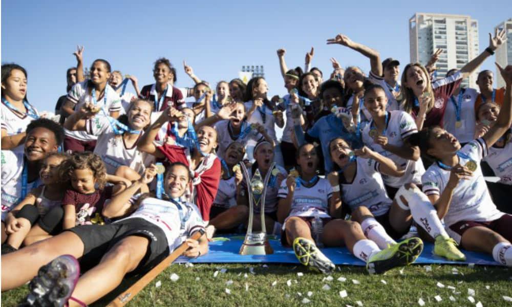 Ferroviária, campeã brasileira de futebol feminino 2019