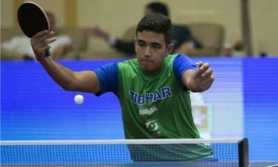 Guilherme Teodoro, do tênis de mesa