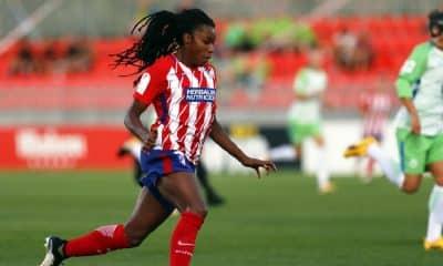 Ludmila marca para o Atlético de Madrid no Espanhol de futebol feminino