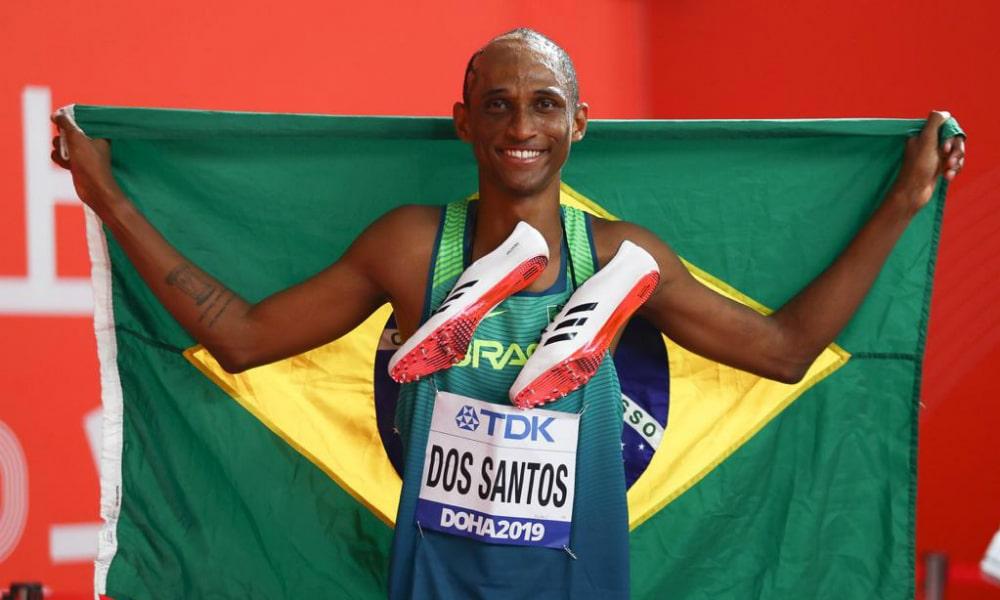 Alison Brendom, finalista dos 400m com barreira no Mundial de Atletismo em Doha