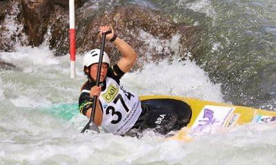 Ana Sátila no Mundial de Canoagem Slalom