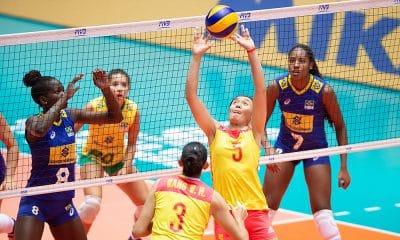 Seleção brasileira de vôlei feminino no Mundial Sub-18