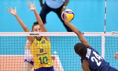 Brasil e EUA na Copa do Mundo de vôlei feminino