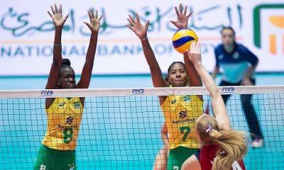 Brasil e EUA Mundial Sub-18 de vôlei feminino