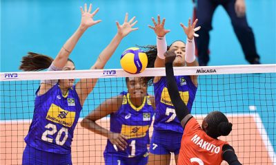 Brasil na Copa do Mundo de vôlei feminino