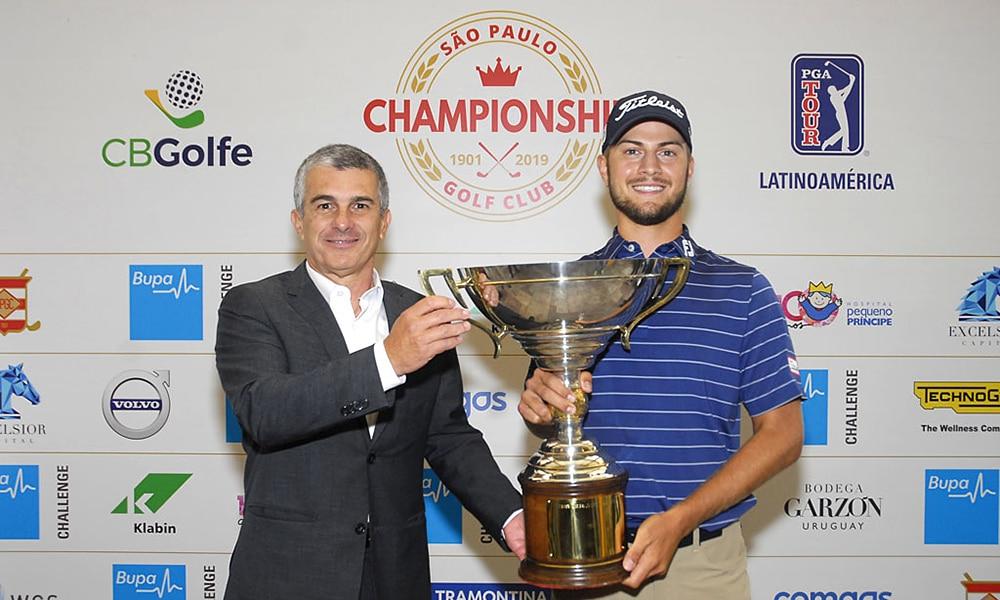 Chandler Blanchet, campeão do SPGC Championship 2019