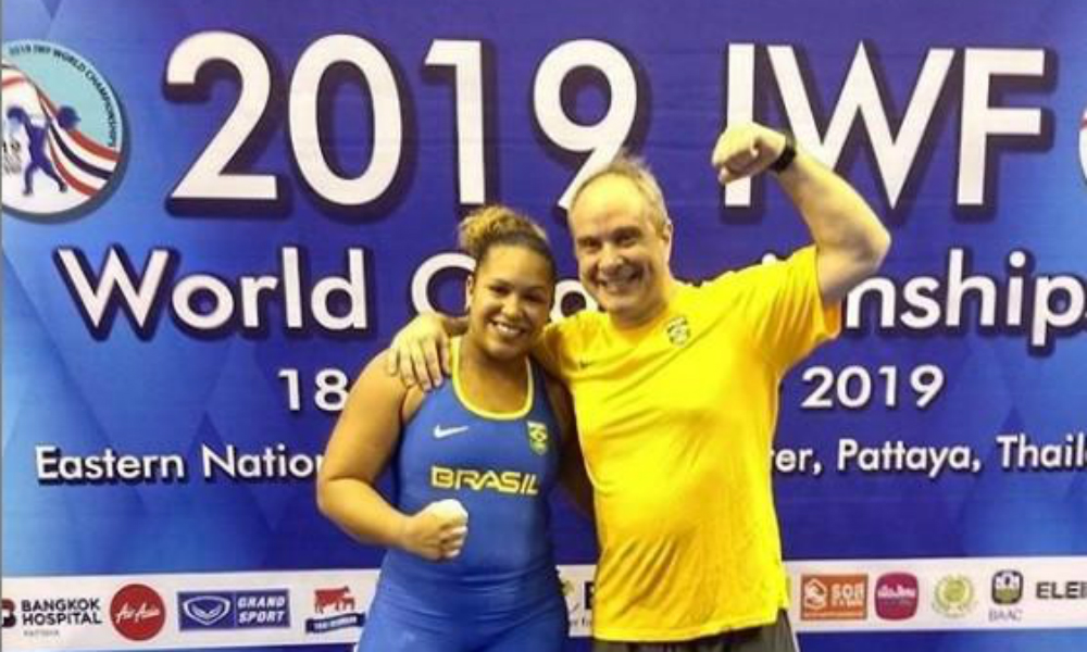 Jaqueline Ferreira - levantamento de peso - Jogos Olímpicos de Tóquio 2020