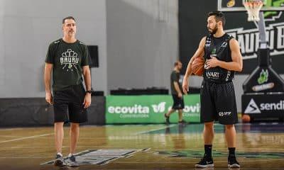 Técnico Demétrius Ferracciú, do Bauru Basket