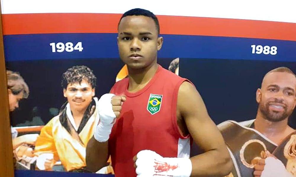 Dougas Andrade no Mundial de Boxe