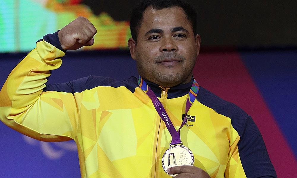 Evânio Rodrigues halterofilismo Jogos Parapan-americanos Jogos Paralímpicos Tóquio