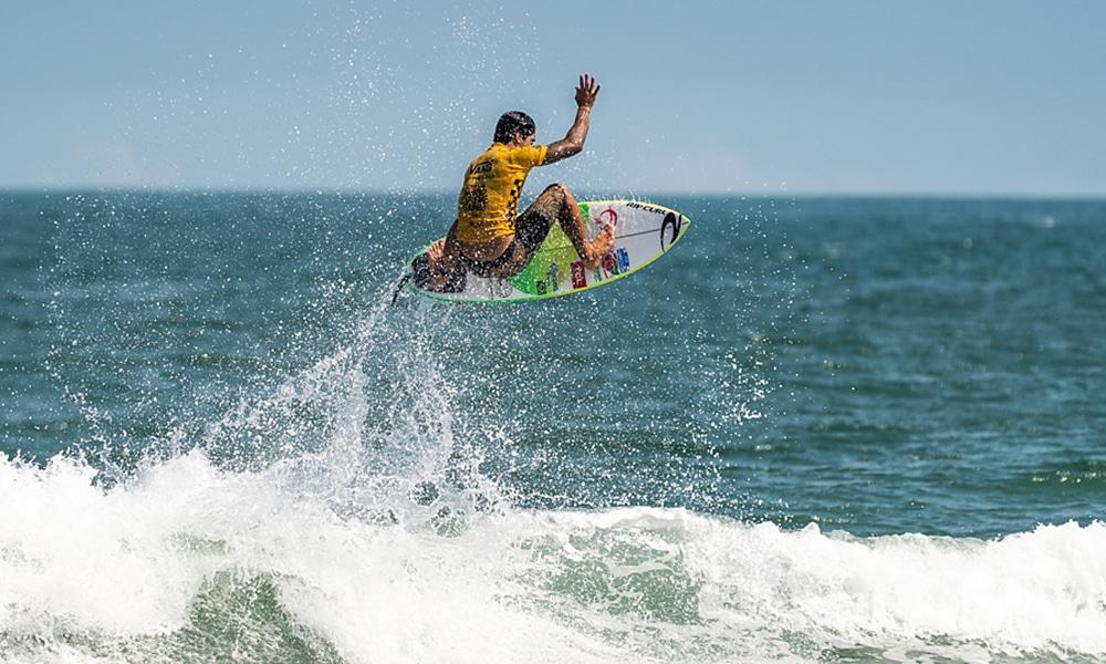 Gabriel Medina nos Jogos Mundiais de surfe