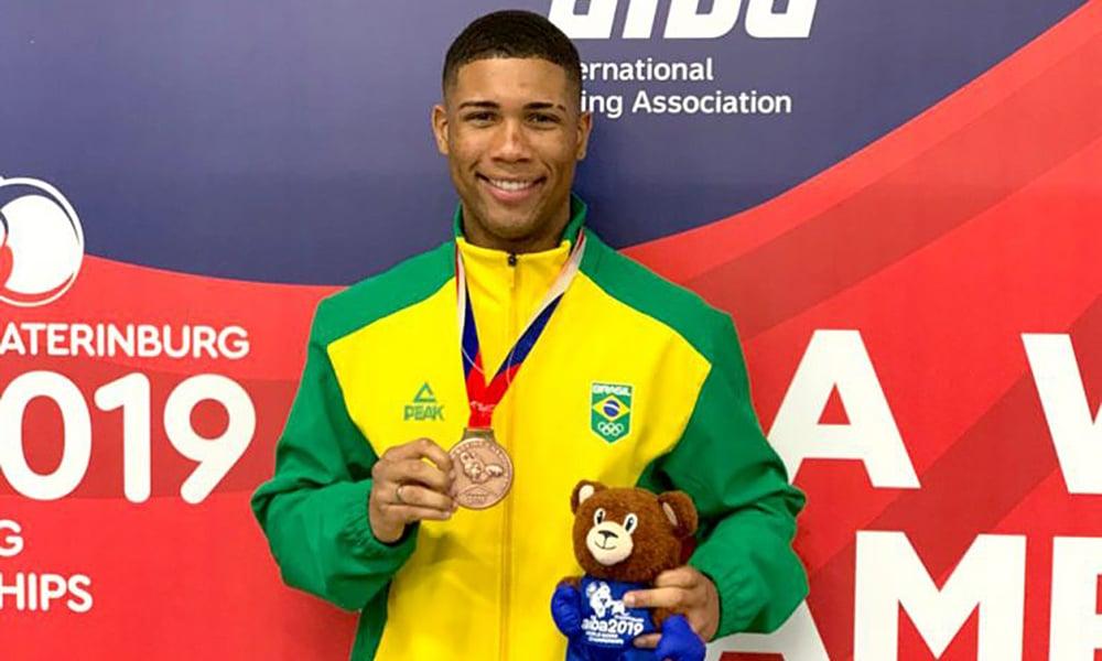 Hebert Conceição, bronze no mundial de boxe