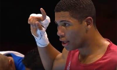Hebert Conceição no Mundial de Boxe da Rússia