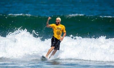 Ítalo Ferreira nos Jogos Mundiais de surfe