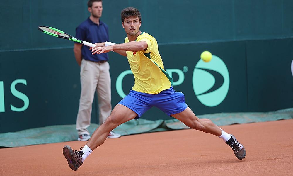 João Menezes, na Copa Davis