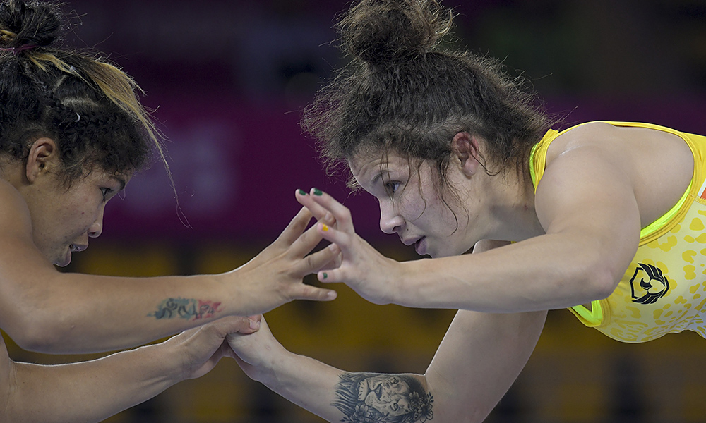 Lais Nunes nos Jogos Pan-Americanos de Lima Pré-Olímpico Canadá