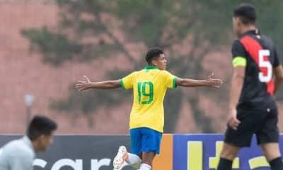 Mateus Lima, da seleção brasileira sub-15