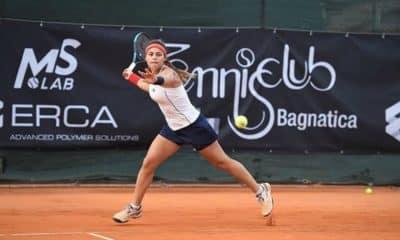Carolina Meligeni vai defender o Brasil contra a Alemanha na Fed Cud