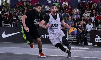 São Paulo DC no World Tour Master de basquete 3x3 em Montreal