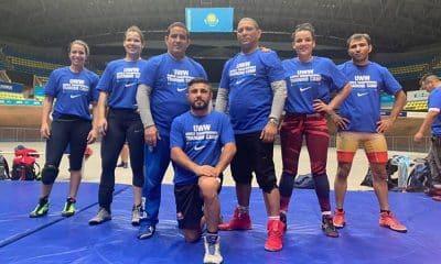 Seleção brasileira no Mundial de Wrestling