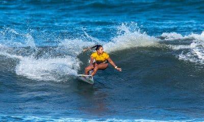 Tainá Hinckel nos Jogos Mundiais de Surfe