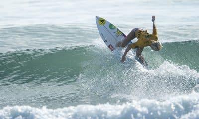Tatiana Weston-Webb nos Jogos Mundiais de Surfe