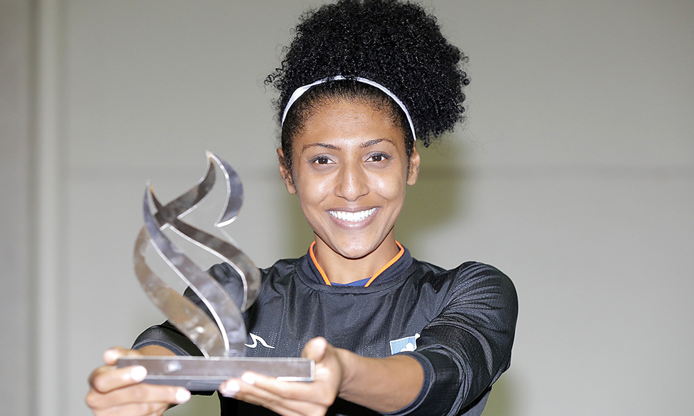 Gabriele Santos, destaque individual do Troféu Brasil de Atletismo