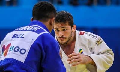 Vitor Penalber, da seleção brasileira de judô