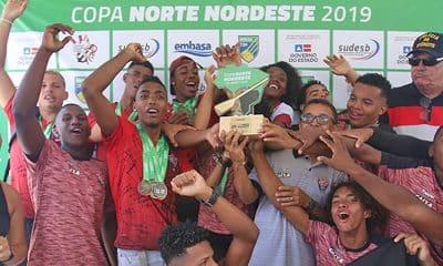 Vitória, campeão da Copa Norte Nordeste de Remo 2019
