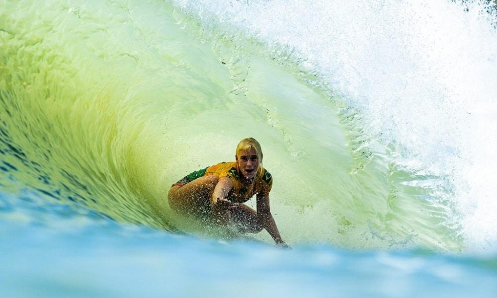 Tatiana Weston-Webb vai intensificar preparação para os Jogos Olímpicos de Tóquio 2020 no surfe feminino