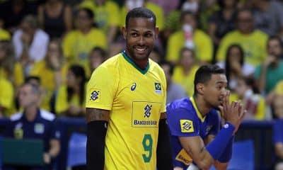 Yoandy Leal, da seleção brasileira de vôlei masculino
