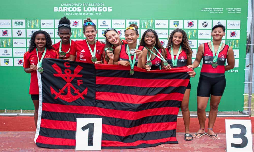 Flamengo é campeão do Brasileiro de Barcos Longos