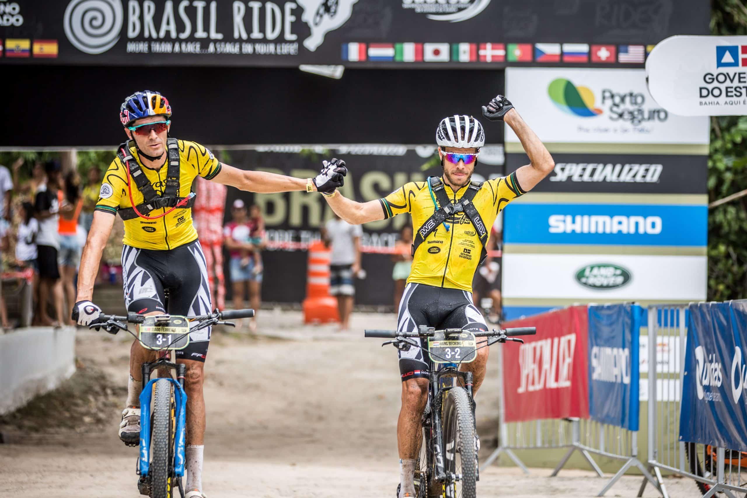 Ferreira e Hans são os campeões da Brasil Ride