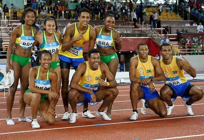 Atletismo do Brasil fica em quarto nos Jogos Mundiais Militares