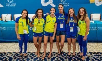 Em Doha, equipe brasileira estreia no 4x4 do vôlei de praia