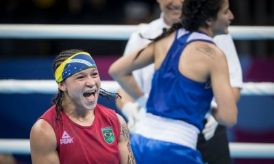 Bia Ferreira, do boxe