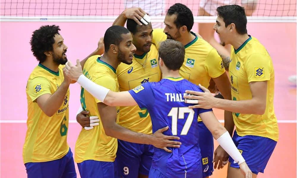 Brasil na Copa do Mundo de vôlei masculino