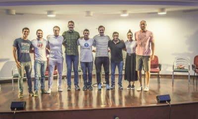 Atletas se reúnem na inauguração do Centro Aquático Samir Barel