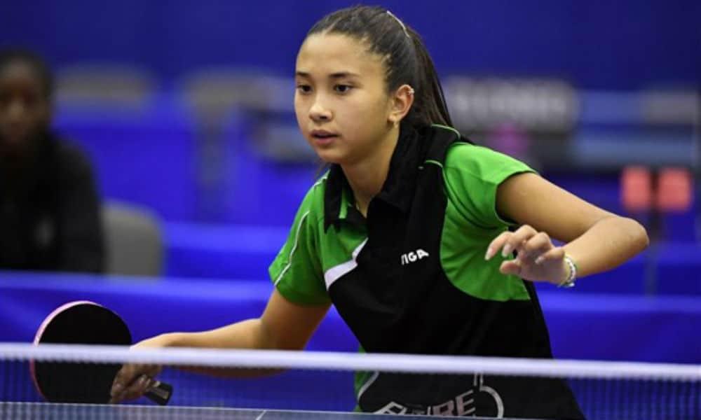 Giulia Takahashi é destaque no ranking mundial de tênis de mesa Sub-15